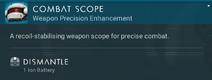 Combat Scope dismantle
