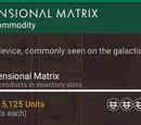 Dimensional Matrix