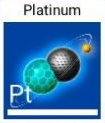 Platinum icon