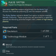 Pulse Splitter creation