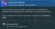 Indium Drive dismantle