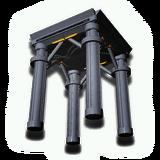立方体部屋の基礎支柱4本セット