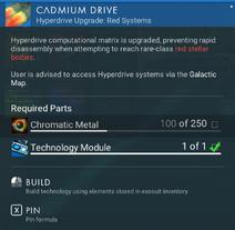 Cadmium Drive creation