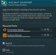 Haz-Mat Gauntlets creation