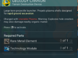 Geology Cannon