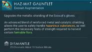 Haz-Mat Gauntlets dismantle