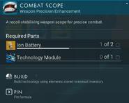 Combat Scope creation
