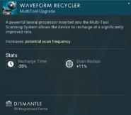 Waveform Recycler dismantle