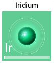 イリジウム:Iridium - Ir