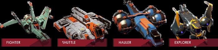 宇宙船タイプ