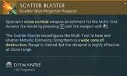 Scatter Blaster dismantle