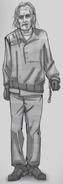 Adolfo's Subterranean Creature (Sketch)