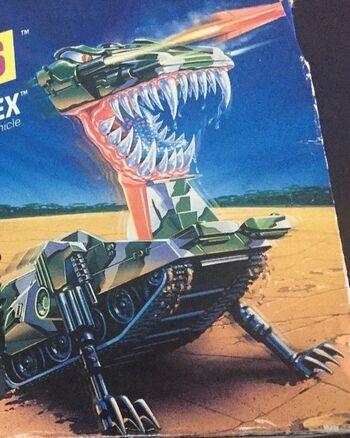 Tankasaurus Rex 1