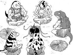 CentaurNoNayami-Amphibians2