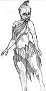 Alana's Subterranean Creature (Sketch)