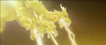 King-Ghidorah's Gravity Beam GMK