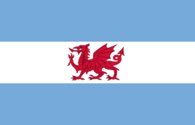 Flag of the Welsh Colony in Argentina