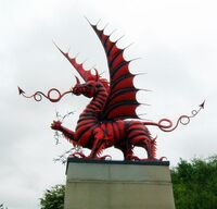 Welsh Dragon - Mametz Wood Memorial