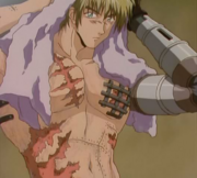 Vash's body