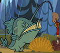 Mutant Angler Fish (Total Drama Island)