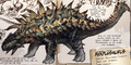 Ankylosaurus crassacutis