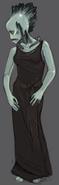 Alana's Subterranean Creature (Color)