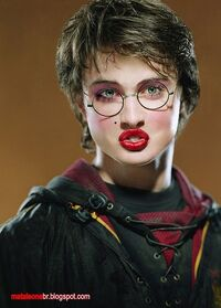 Harry Potter femminile e seducente