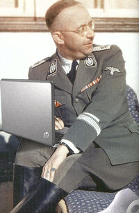 Himmler con notebook