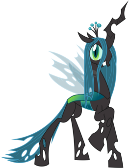 Queen chrysalis by bluepedro-d4ztwaz