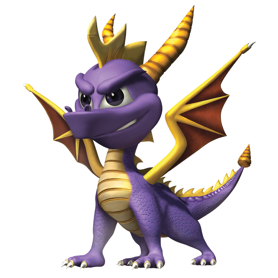Spyro the Dragon | Non-Human Video Game Flattenings Wikia ...