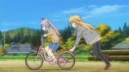 Renge Kaede Bike Practice