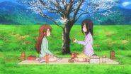 Hotaru and Komari picnic