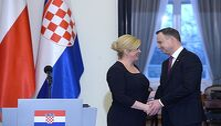 Duda i prezydent Chorwacji