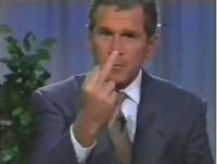 George-bush-tells-america-fuck-you