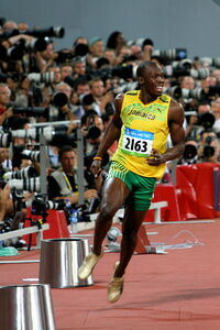 Beijing Olympics- Usain Bolt Breaks The World Record (Men's 100 Meters)-2831