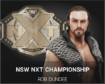 NXT CHAMPION dundee