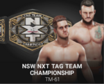 NXT TAG TEAM CHAMP