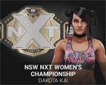 Kai women champ