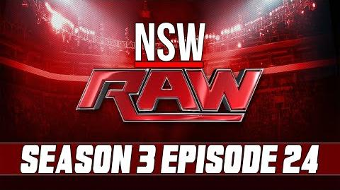 NSW RAW results S3 E24