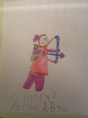 File:Cozybory's Arrow & Bow.jpeg