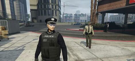 Uchiha Police Disguise