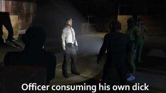 Officer Cuck Clarkson