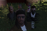 Jesus, Siz, Huck, Julio and Fred on thw Weed Forest