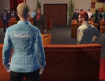Nettie at court