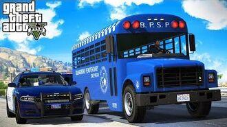 Prison Bus Transport! (GTA 5 Online Roleplay)