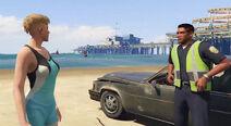 Nettie and Jordans Beach Date