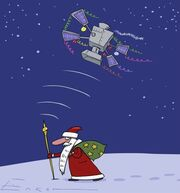 GLONASS Tracking Father Frost