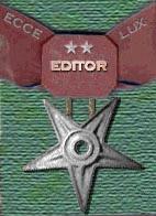 Editor - silver star