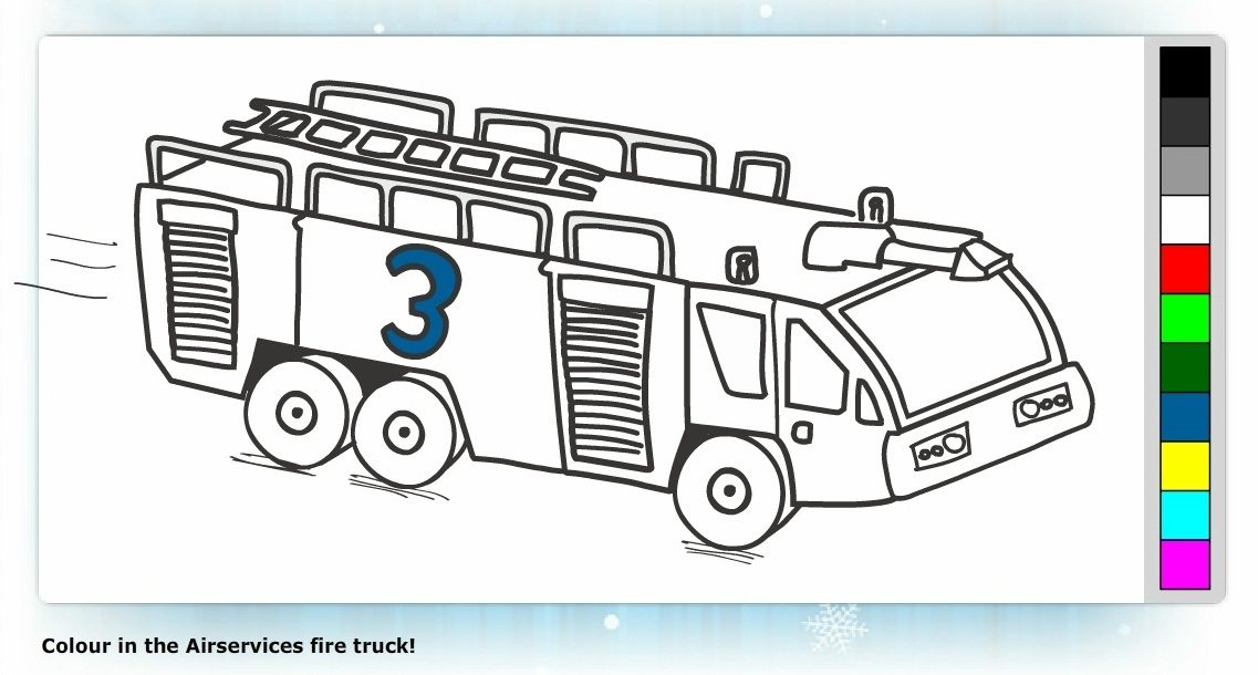 History Of Fire Engines Coloring Book - Bltidm