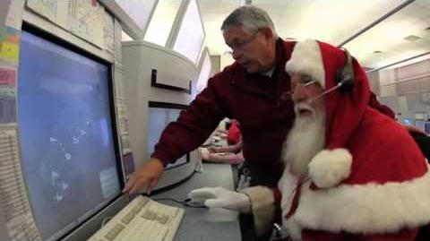 Airservices Tracks Santa - December 2011 - Santa Visits Air Traffic Control and Fire and Resuce